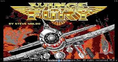 Wings of Fury juego PC (Ms-dos)