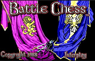 Battle Chess juego PC (Ms-Dos)