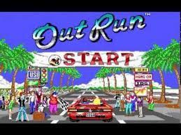 Out Run juego PC (Dos)