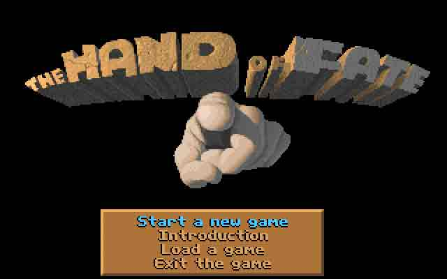 The legend of Kyrandia The hand of fate