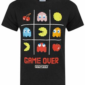 Camiseta PacMan - Game over