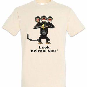 Camiseta Monkey Island - Mono 3 cabezas