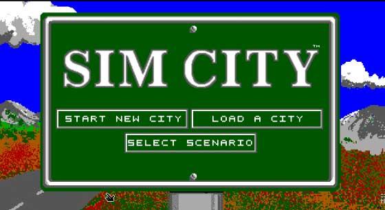 SIM CITY, Juego Pc (Ms-Dos)