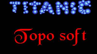 Titanic juego PC (Ms-Dos)