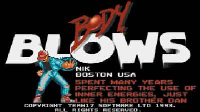 Body Blows | PC (Ms-Dos)