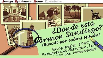 ¿Donde está Carmen Sandiego?