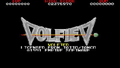 Volfied juego1 989 Pc (Ms-Dos)