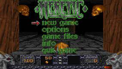 Heretic | videojuego PC (Ms Dos)